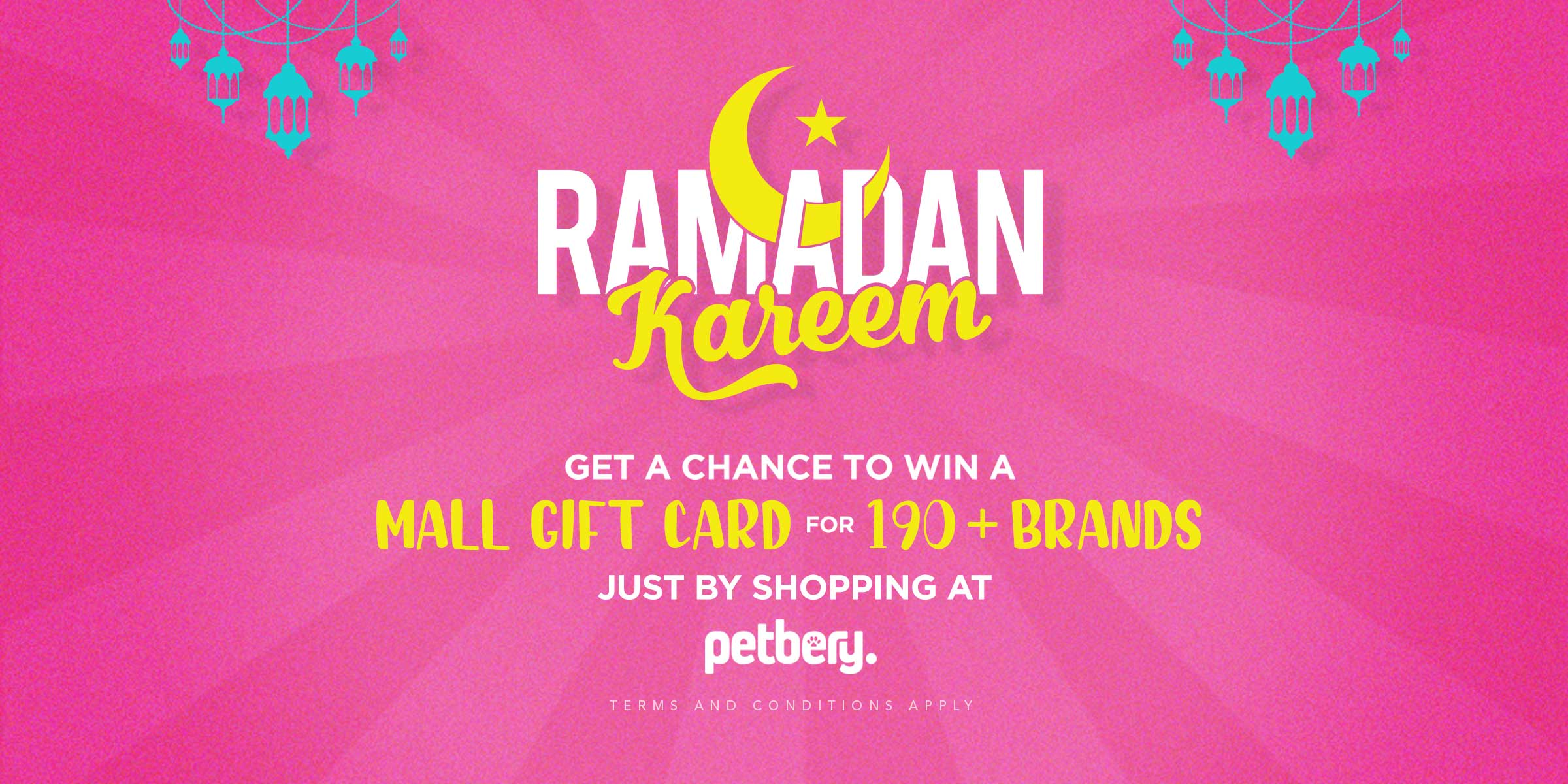Ramadan Kareem - Win Mall Gift Card